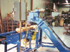 NLE Hinged Steel Conveyor